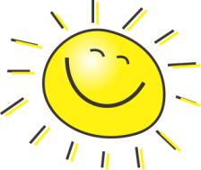 Sunny, sunny day.